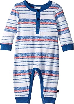 Print Stripe One-Piece (Infant)