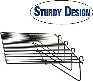 Grid Panel Display Shelf - Econoco - Clothing Display Rack Grid, Heavy Duty Shelves, 12