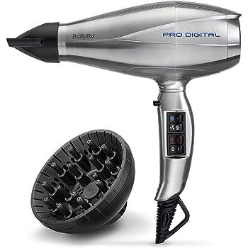 BaByliss 6000E Profi-Haartrockner Pro Digital, 2200 Watt
