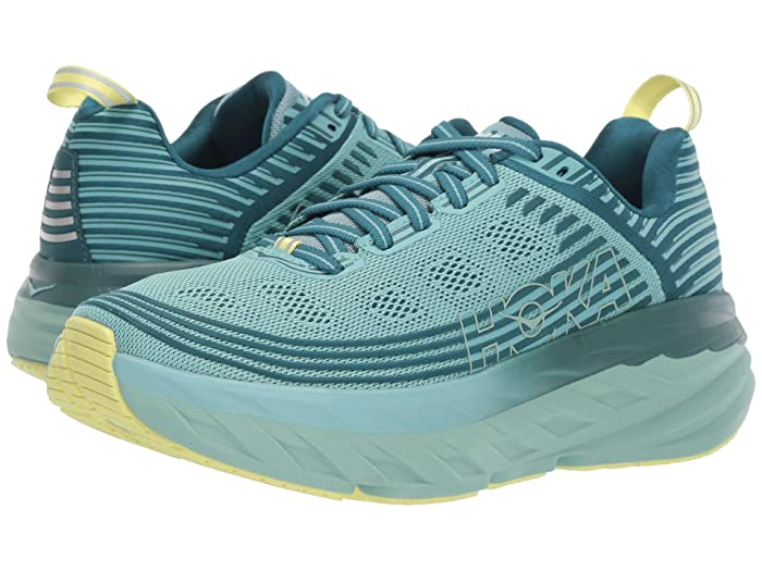 Hoka One One  Bondi 6 (Dragonfly/Aqua Haze) Womens Running Shoes