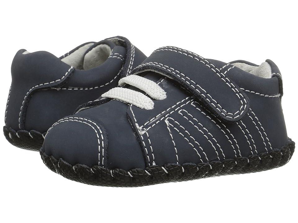 pediped Jake Original (Infant) (Navy Nubuck) Boys Shoes