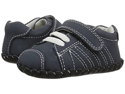 pediped Jake Original (Infant) (Navy Nubuck) Boys Shoes
