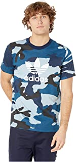 [adidas(アディダス)] メンズタンクトップ?Tシャツ Camo Tee Multicolor/Collegiate Navy 2XL (2XL) One Size [並行輸入品]