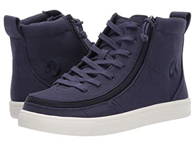 BILLY Footwear Classic Lace High Canvas (Navy) Women