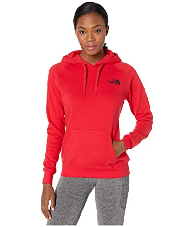 The North Face Red Box Pullover Hoodie (TNF Red/TNF Black) Women