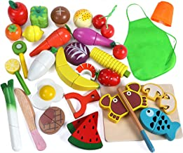 Best kids wooden food toys Reviews