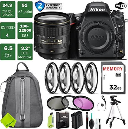 Amazon com: Nikon D7500 - Full Frame / Digital Cameras