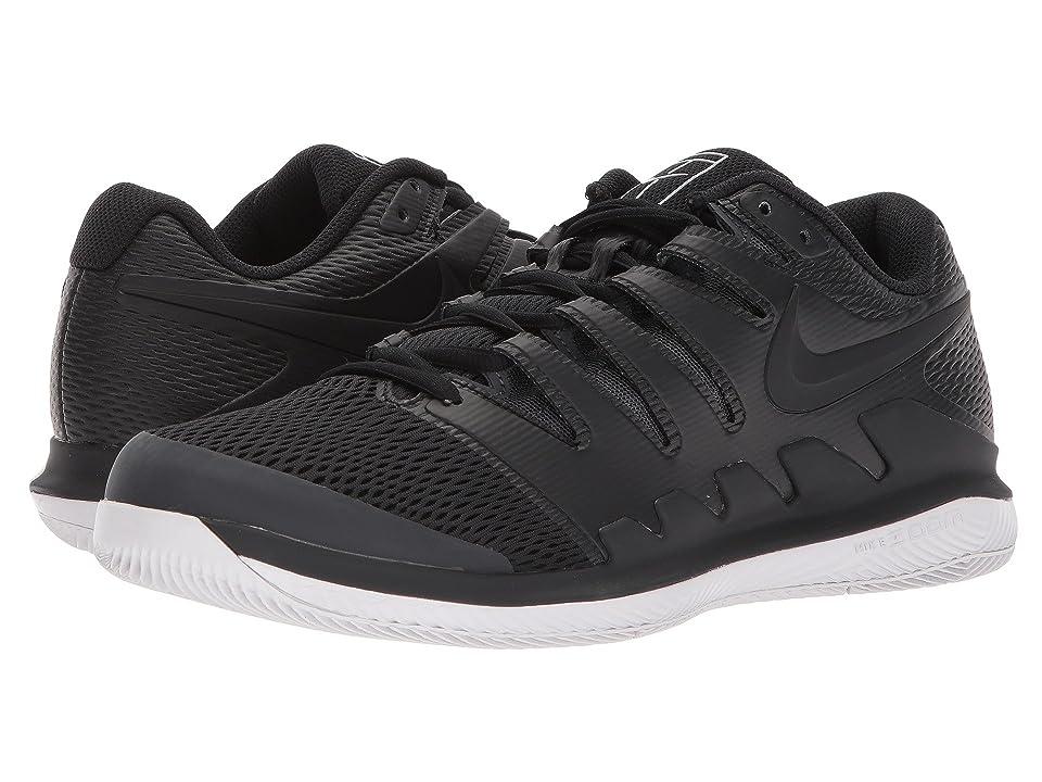 Nike Air Zoom Vapor X (Black/Black/Vast Grey/Anthracite) Men