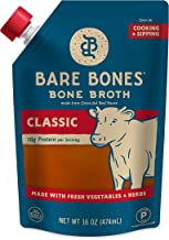 product image for Beef Bone Broth by Bare Bones - Grass-fed, Organic, Beef Bone Broth, Protein-rich, 16 oz (12-pack)