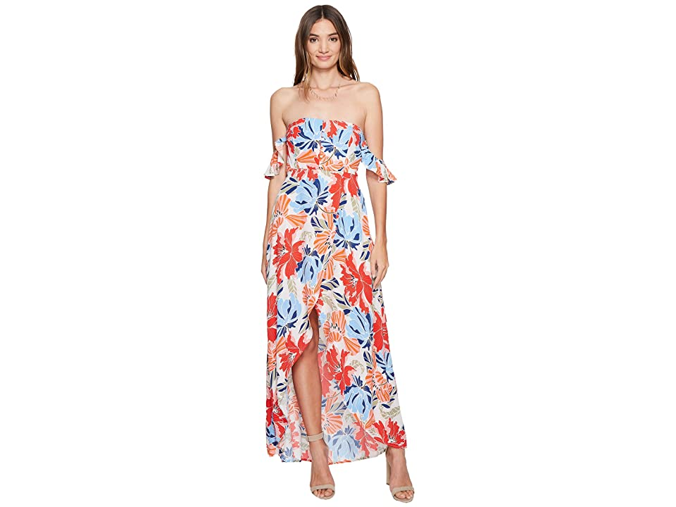 ASTR the Label Esmeralda Dress (Hibiscus Multi Floral) Women