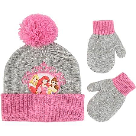 VAMPIRINA pompom hat and gloves set Bobble hat Vampirina and gloves for children