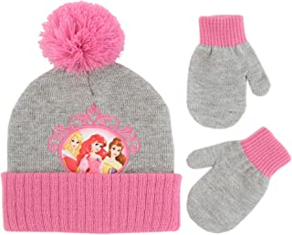 Girls' Toddler Princess Character Hat and Mittens Cold...