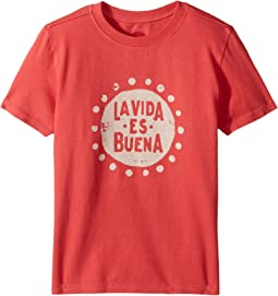 Life is Good Kids - La Vida Es Buena Crusher Tee (Little Kids/Big Kids)