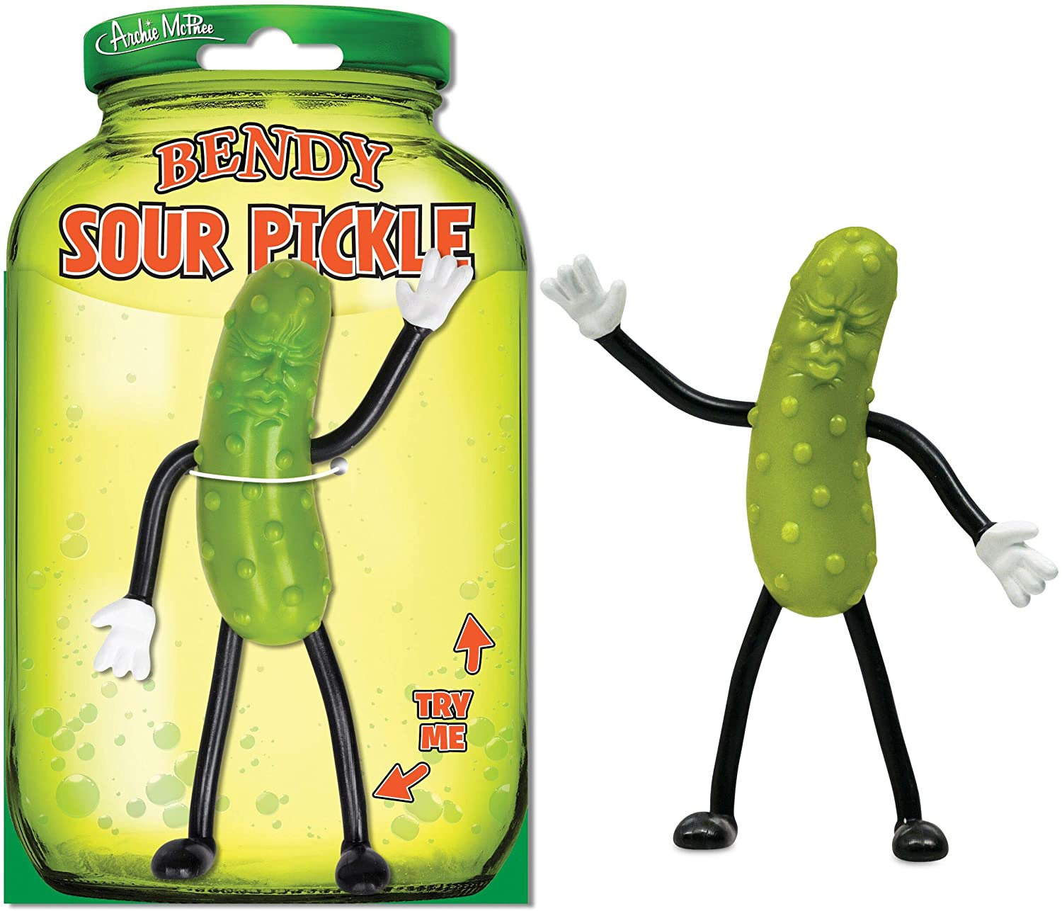 Special price Archie McPhee store Bendy Sour Pickle