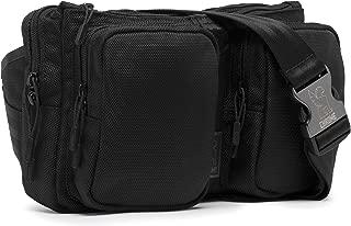 Chrome MXD Notch Sling Bag Crossbody Sling or Waistpack 5 Liter Black
