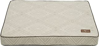 Jax and Bones Gatsby Premium Cotton Blend Rectangular Memory Foam Pillow Dog Bed