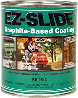 Ez-Slide Alkyd Graphite Coating 1-Quart Graphite Liquid Rb-9512