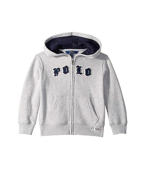 46e341704 Polo Ralph Lauren Kids Cotton-Blend Fleece Hoodie (Toddler) at 6pm