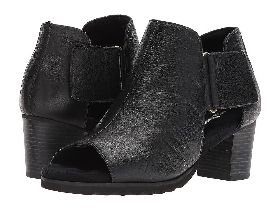 Walking Cradles Neve (Black Tumbled Leather) Women
