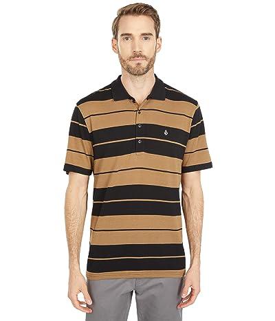 Volcom Olmos Polo Short Sleeve Polo (Sanddune) Men