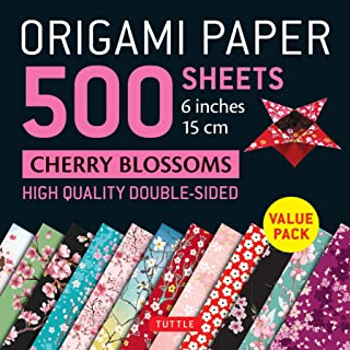 Origami Paper 500 sheets Cherry Blossoms 6