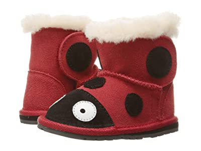 EMU Australia Kids Little Creatures (Infant) (Red) Kids Shoes