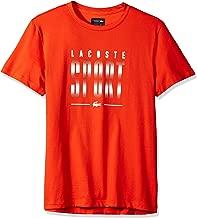 Lacoste Men's Sport Short Sleeve Print Graphic T-Shirt