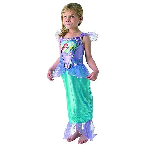 bf3ef57384ac1 Rubie's Loveheart Ariel Girls Fancy Dress Fairytale Little Mermaid Kids  Childs Costume - Small