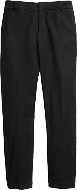 Slim Fit Stretch Pants with Adjustable Waist and Velcro® Magnet Buttons