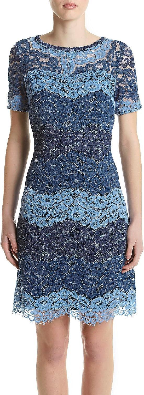 Jessica Howard Women's Elbow Sleeve Lace Shift