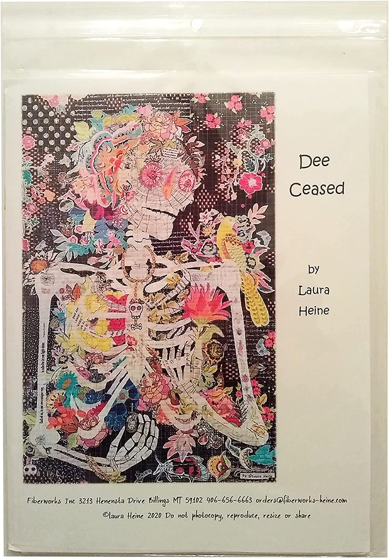 Fiberworks Laura Heine Collage Style Pattern Japan Maker New Ceas Discount mail order - Quilting Dee