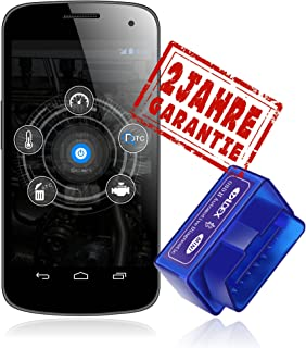 Ldex Bluetooth Diagnose Scanner OBD 2 Android CAN BUS Interface Diagnosegerät..