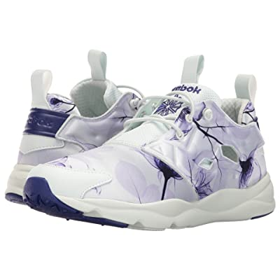 Reebok Furylite Slip-On Jersey (Floral/Opal/Pigment Purple/Lucid Lilac) Women