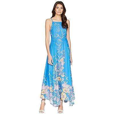 Free People Embrace it Maxi Dress (Blue) Women