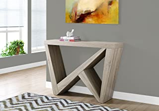 Monarch Specialties Dark Taupe Hall Console Accent Table, 48