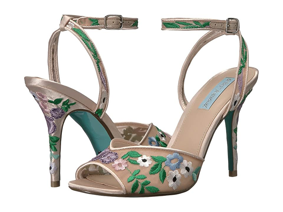 Blue by Betsey Johnson Dylan (Champagne Multi) High Heels