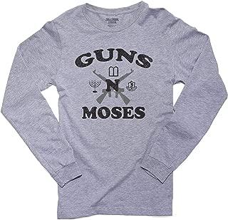 Hilarious Guns n Moses Christian Pride Men's Long Sleeve T-Shirt