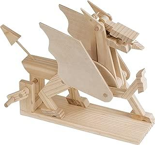 Timberkits - Dragon - Mechanical Wooden Construction Kit