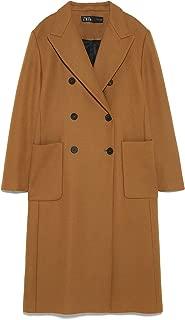 Zara Women Long Coat with Pockets 7947/744