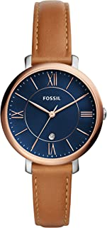 Fossil Women's ES4274 Analog Quartz Brown Watch