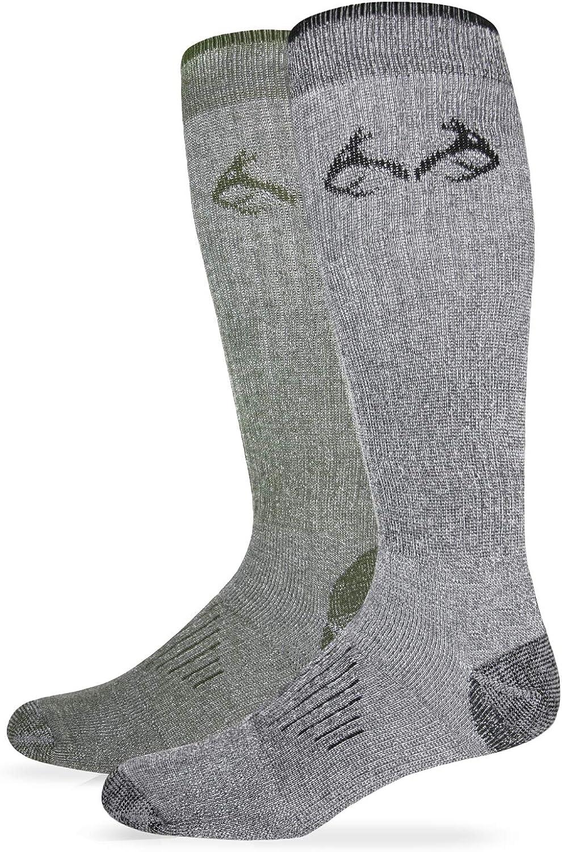 RealTree Elimishield Tall Boot Socks, 2 Pair