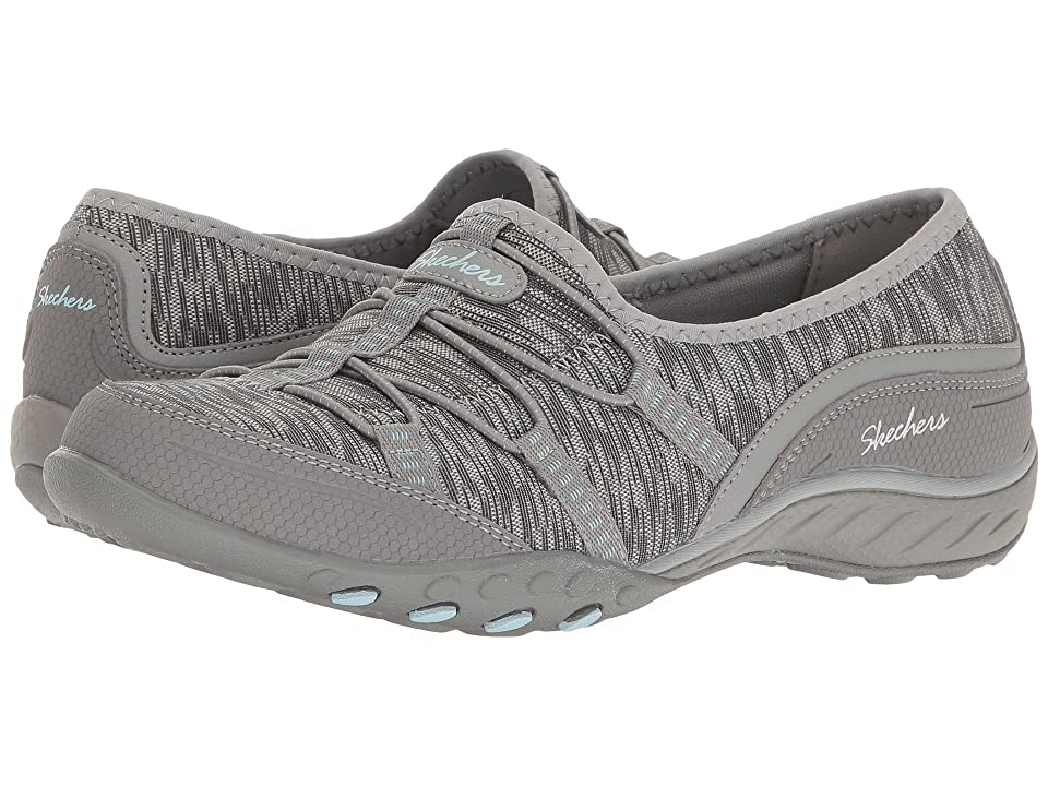 SKECHERS Breathe-Easy - Golden (Gray) Women's Shoes