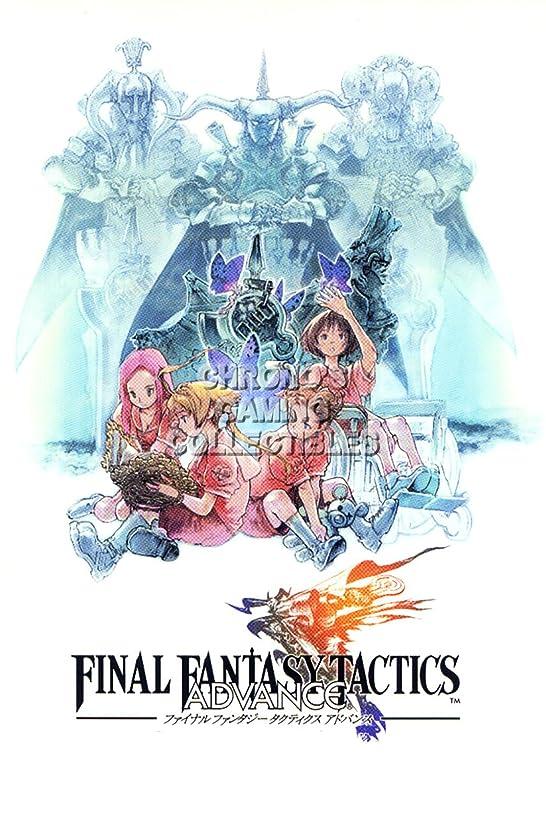 Final Fantasy CGC Huge Poster Tactics PS1 PS2 PSP Vita Nintendo DS GBA - FTA010 (16