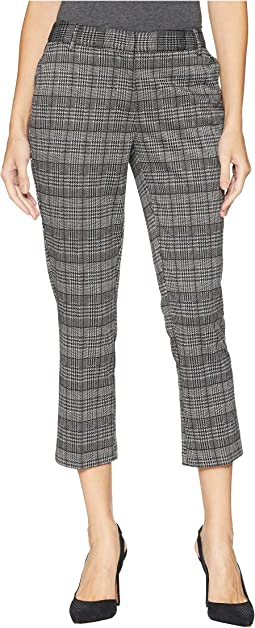 Plaid Ponte Smart Pants