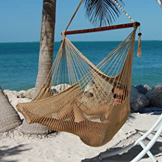 Caribbean Hammocks Polyester Hanging Chair, Large, 48