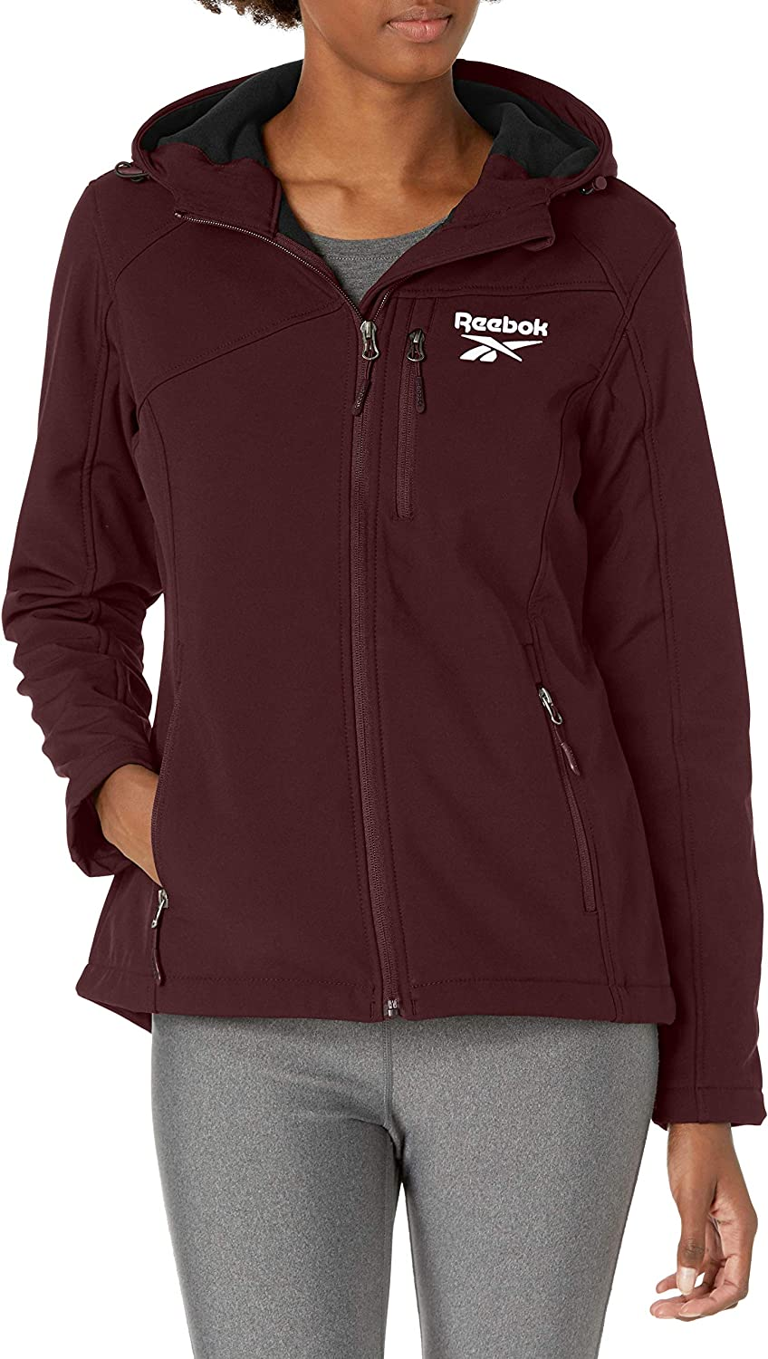 Max 88% OFF Reebok Women's excellence Soft Woven Jacket
