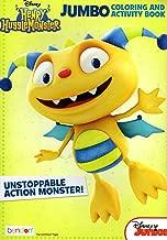 Disney Junior Henry Hugglemonster - Unstoppable Action Monster - Jumbo Coloring & Activity Book