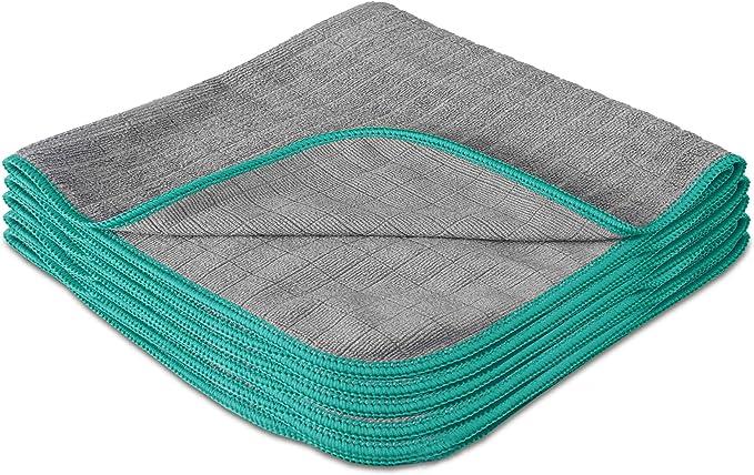 596 opinioni per LAVANDOLA® 5X Panni Premium per la Pulizia della Tua Casa- Panni in Microfibra