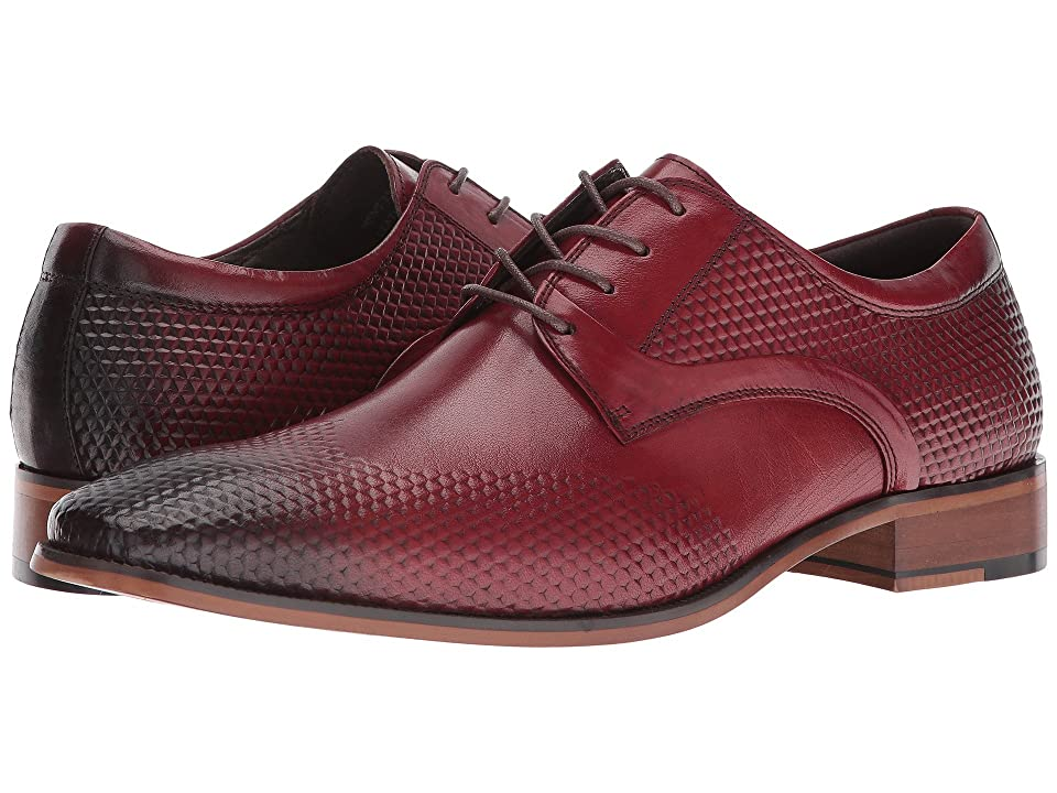 Stacy Adams Kallan Plain Toe Lace (Red) Men