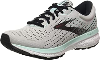 Brooks Women's Ghost 13, Grey/Aqua, 9.5 Medium